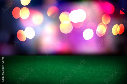 Stampa su Tela Empty poker table in casino