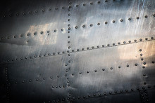 Background Of Riveted Steel