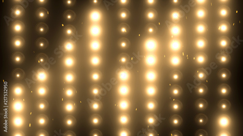 Fototapeta Floodlights Flash lights.Spotlights obraz na płótnie