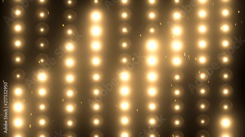 Fototapeta Floodlights Flash lights.Spotlights obraz