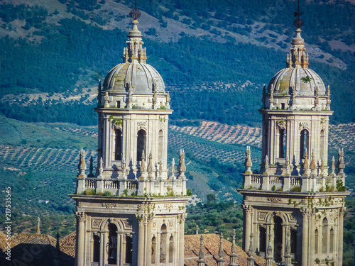 Catedral de Jaen. Ciudad de Andalucia, España