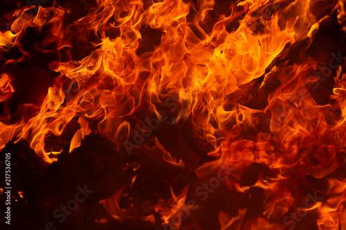 Fotobehang Vuur blaze fire flame texture background