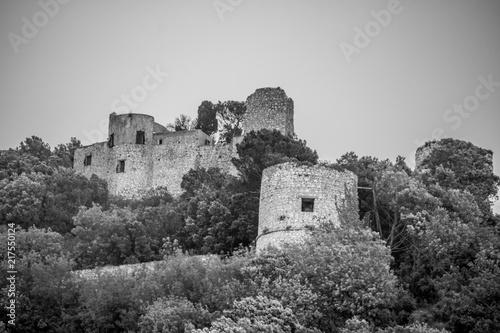 Photo Castello Barbarossa in Anacapri auf der italienischen Insel Capri in Frühling