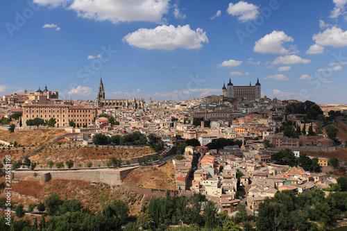 Keuken foto achterwand Parijs View of Toledo, Spain