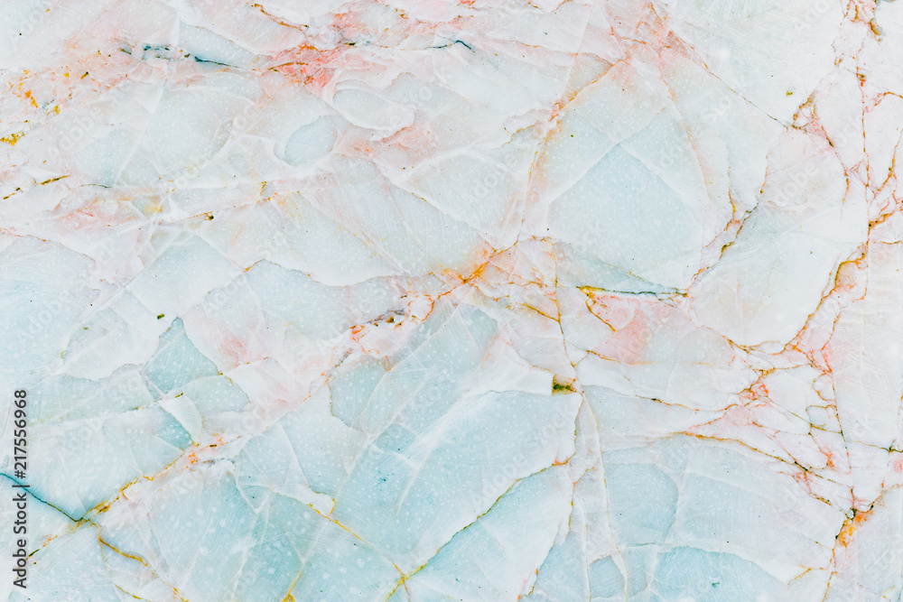 Fototapety, obrazy: Real natural blue marble stone and surface background.