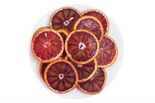 Red Sicilian Orange Slices On ...