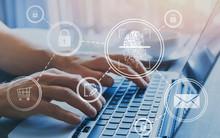 Fingerprint Authorization Access Concept, Personal Data Information Security