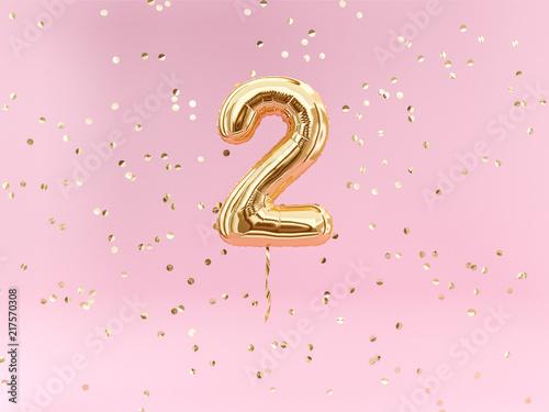 Photographie  Two year birthday