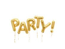 Party Letters, Foil Balloons P...
