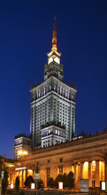 Palace Of Culture And Science In Warsaw. Poland