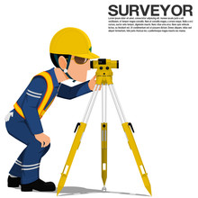 A Surveyor Is Operating The Op...