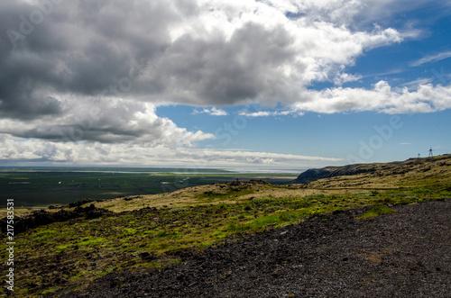 Foto op Plexiglas Grijze traf. Icelandic landscape