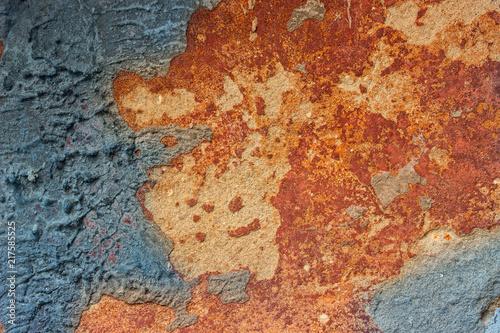 wielokolowy-fragment-betonowej-sciany