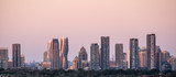 City of Mississauga (near Toronto) Skyline at Sunset
