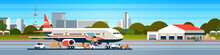 Transport Airplane Express Del...