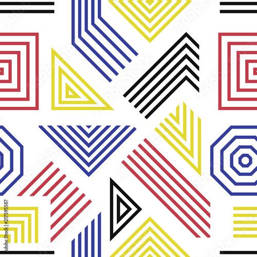 Obrazy styl bauhaus zakrzywione-linie