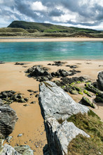 Low Tide And Turquoise Water