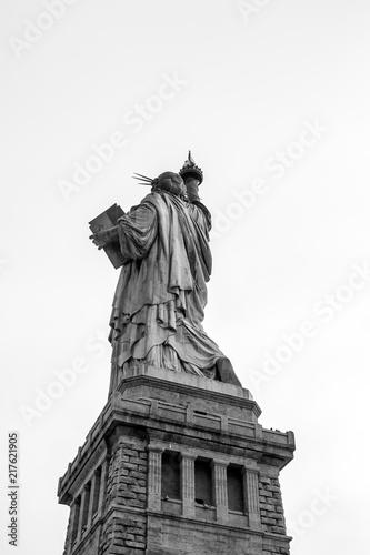 The iconic Statue of Liberty, Liberty Island, New York City, USA Canvas Print