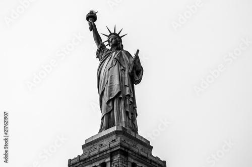 The iconic Statue of Liberty, Liberty Island, New York City, USA Wallpaper Mural