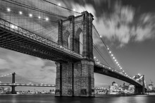 Brooklyn Bridge And Clouds, St...