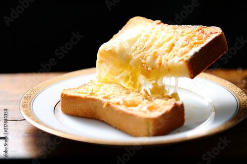 Fotografie, Tablou チーズトースト