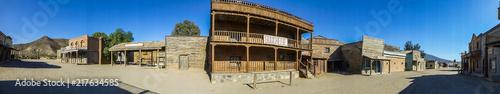 Fényképezés Tabernas. Pueblo western en Almeria, Andalucia, España