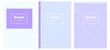 Light Purple vector pattern for magazines.
