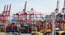 Commercial Container Port In H...