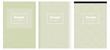 Light Green vector pattern for magazines.