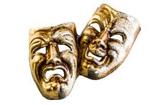 Masks Of Good And Evil Lie On ...