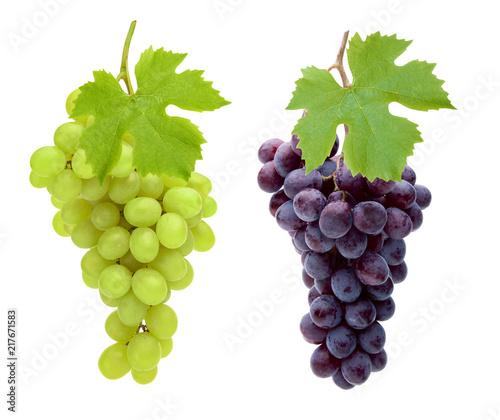 Rote und Weiße Trauben