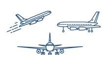 Passenger Plane Or Civil Aircr...