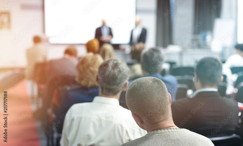 Fototapeta People on the Conference room