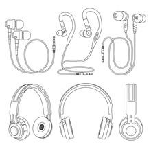Outline Earphones, Wireless An...