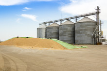 Old Agricultural Silos And And...