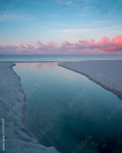 Beautiful Sun Rising By The Ocean Buy This Stock Photo And Explore