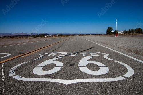 Unterwges auf der Route 66
