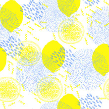 Trendy Seamless Pattern With L...