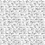 Pisma bezszwowe tło wzór grunge litery słów - 217752791