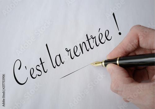 Fotografía  C'est la rentrée crayon noir