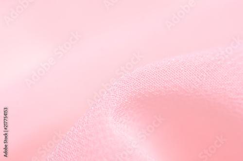Garden Poster Light pink Pink fabric material texture macro blur background