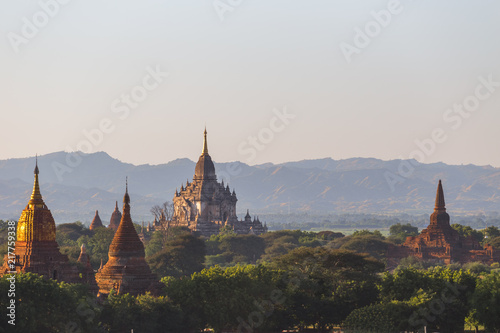Photo  Bagan temples, Myanmar