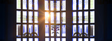 The Rays Of The Sun Through The Stained Glass Window, The Magic Light