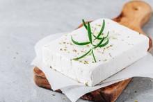 Homemade Greek Cheese Feta Wit...