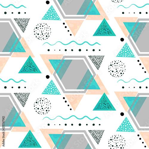 bezszwowy-wzor-szary-szesciokat-i-kolorowi-trojboki
