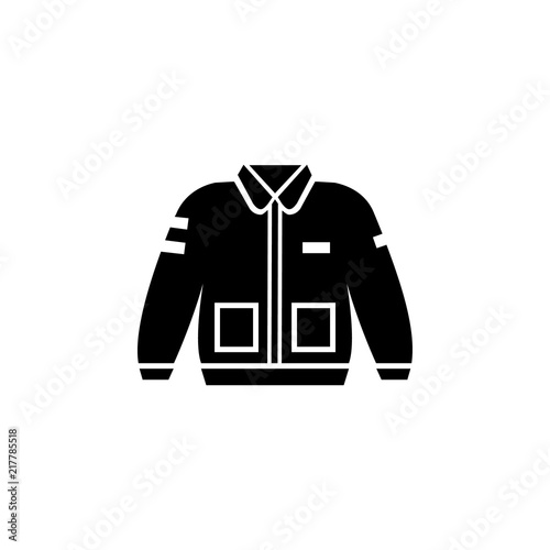 Bomber Jacket Clothing Icon Buy This Stock Vector And Explore