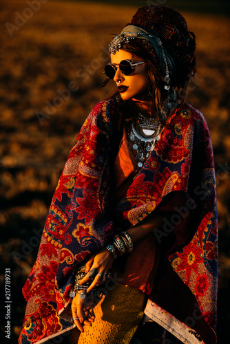 Poster Gypsy magnificent gypsy woman