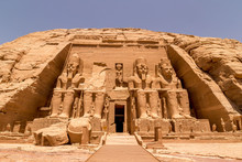The Front Of The Abu Simbel Te...