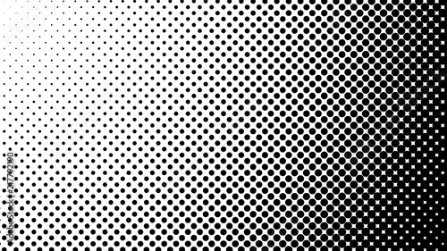 Vector halftone design Canvas-taulu