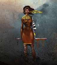 Warrior Princess, African Orig...